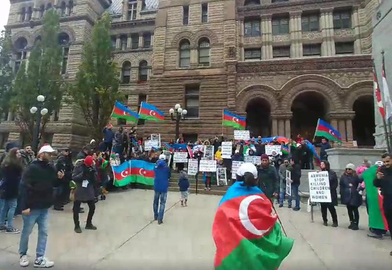 Азербайджанцы Канады выступили против армянской провокации