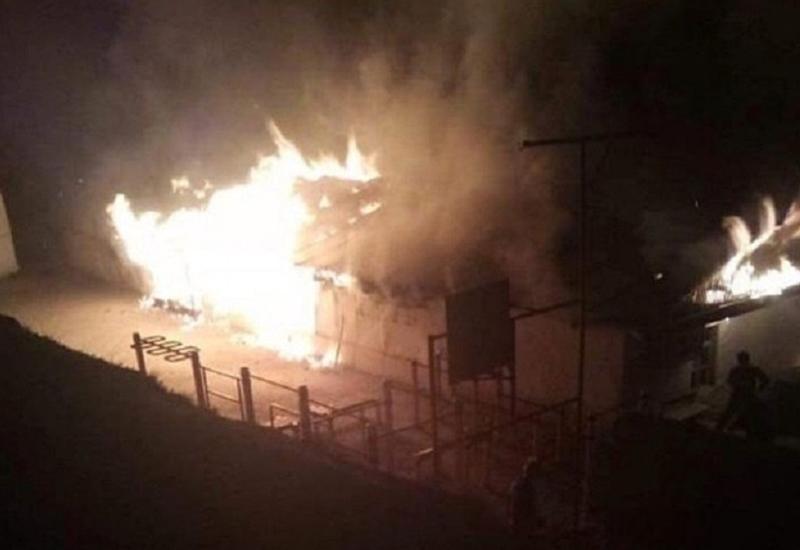 В Дагестане произошел крупный пожар в сельской школе