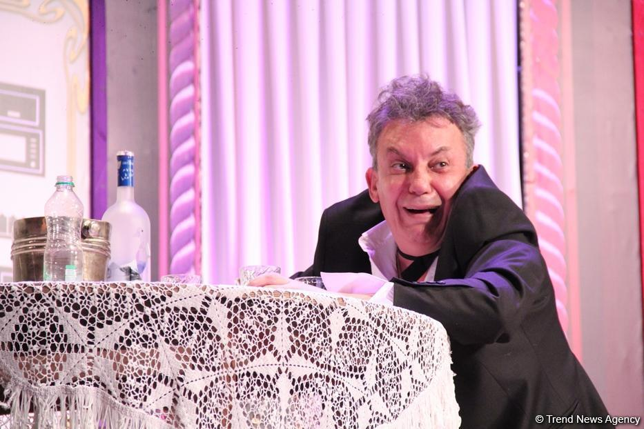 Двойной юбилей Сафы Мирзагасанова на сцене Русской драмы