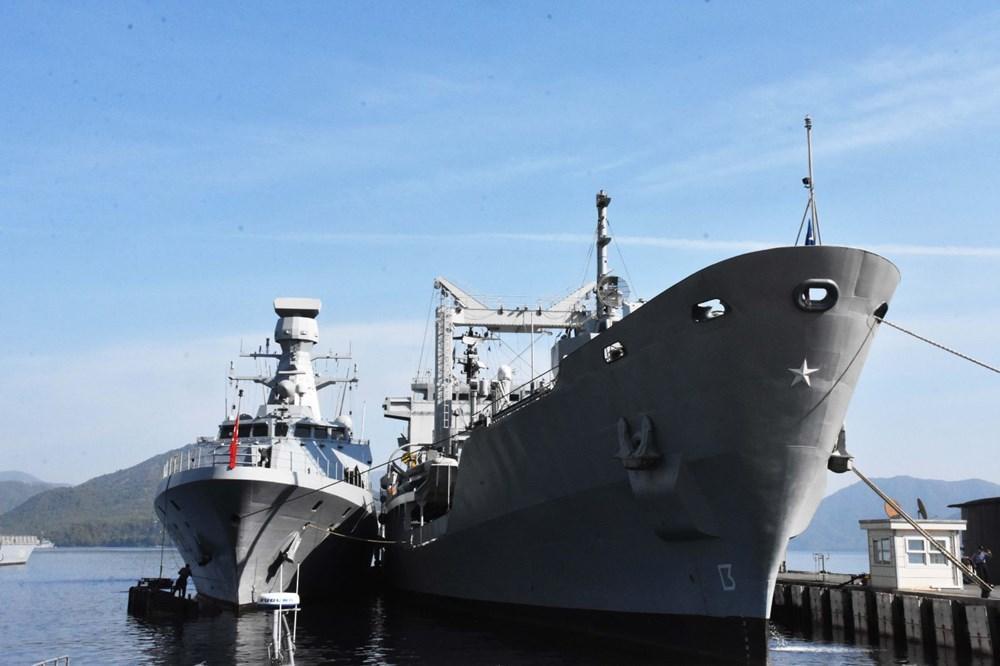 Турция проводит масштабные военно-морские учения