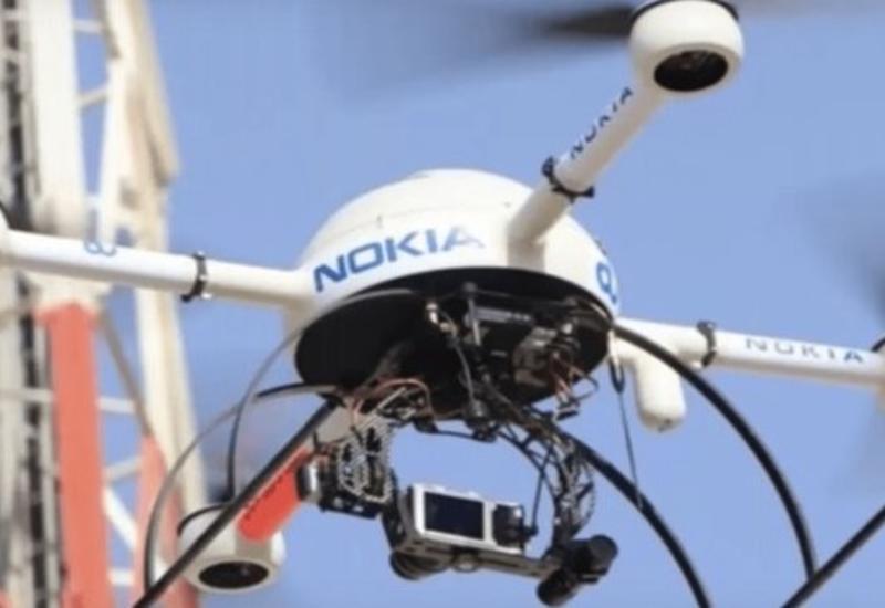 Nokia первой протестировала эвакуацию людей с помощью дронов