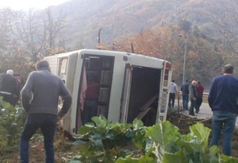 Жуткое ДТП в Грузии, много пострадавших