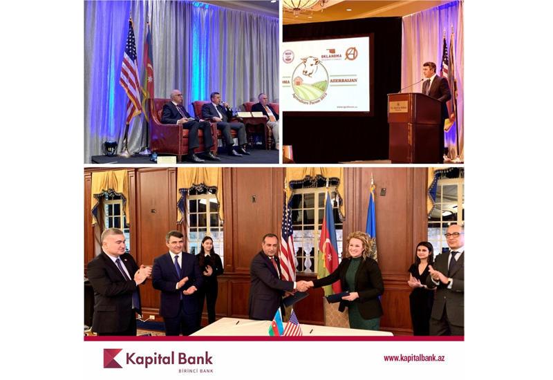 Kapital Bank принял участие в очередном международном сельскохозяйственном форуме (R)