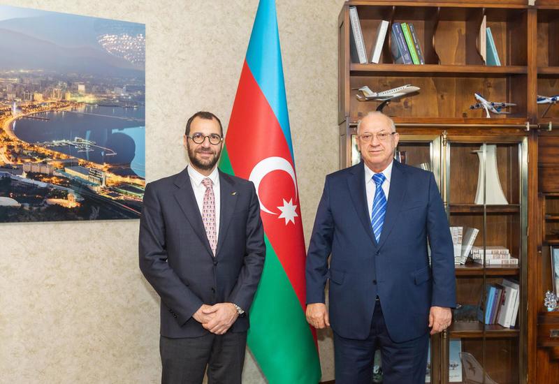 В Международном аэропорту Гейдар Алиев внедрена новая система управления безопасностью полетов