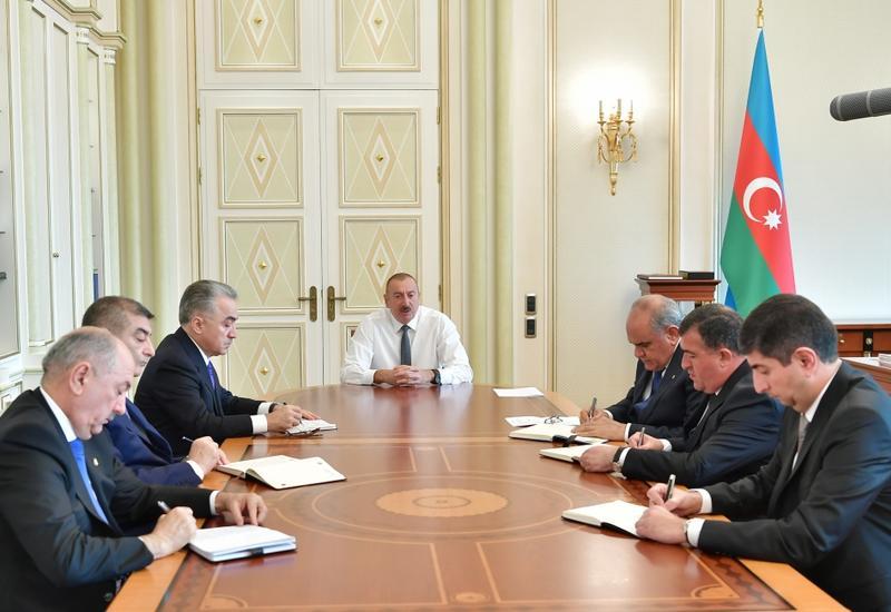 Президент Ильхам Алиев: Ваш долг – в первую очередь, служить народу и профессионально справляться со своими обязанностями