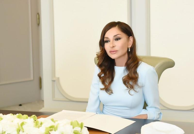 Первый вице-президент Мехрибан Алиева поздравила азербайджанский народ с Днем Конституции