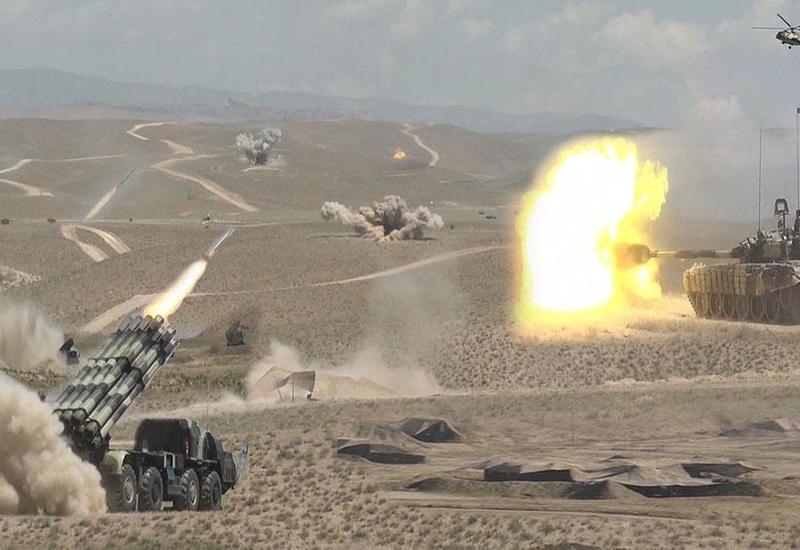 Войска Нахчыванского гарнизона приведены в боевую готовность
