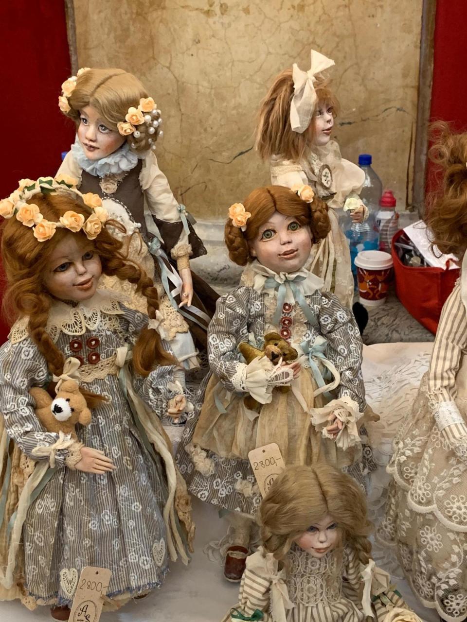 Куклы Фарах Алиевой представлены на Международной выставке Prague Doll 2019