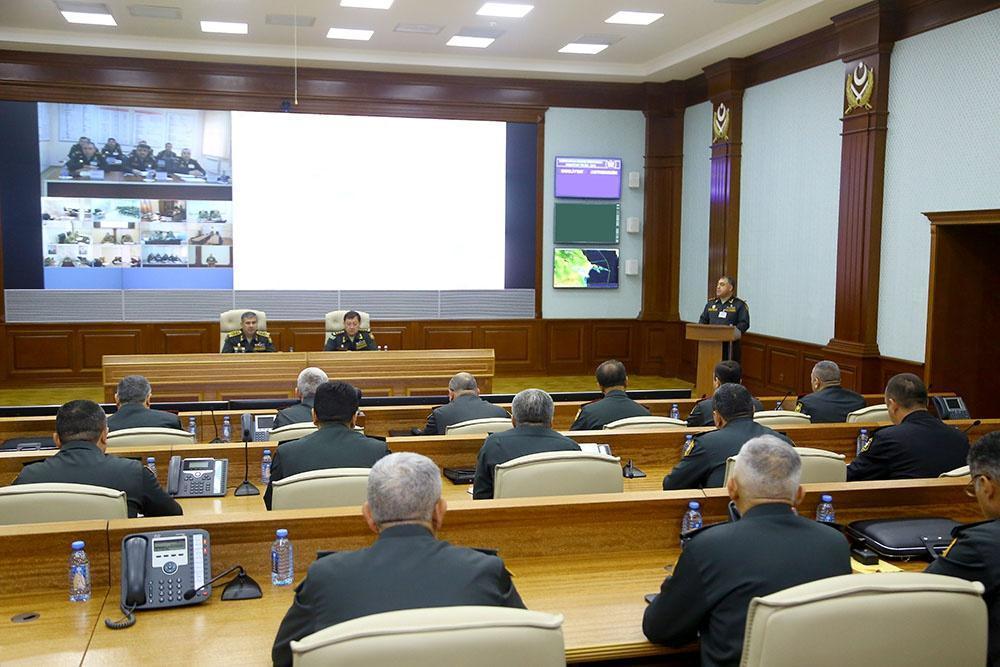 Закир Гасанов заслушал доклады в связи с началом оперативных учений