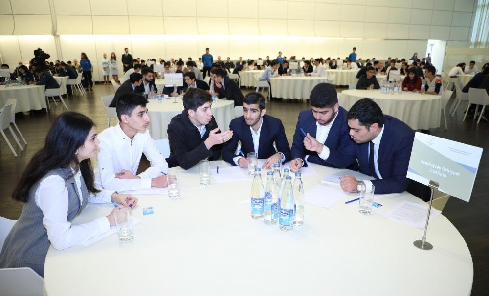 В Центре Гейдара Алиева прошло VI общереспубликанское соревнование знаний «Гейдар Алиев и история Азербайджана»