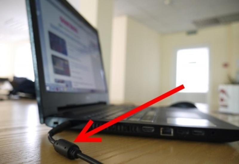 Зачем необходимы толстые цилиндры на проводах от ноутбука
