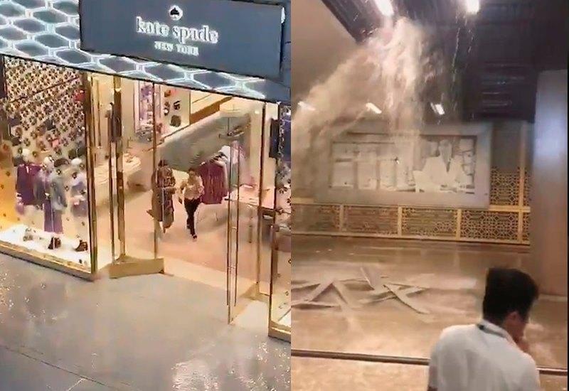 Крупнейший торговый центр мира затопило