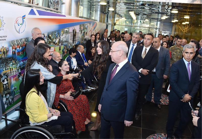 Вице-президент Фонда Гейдара Алиева Лейла Алиева приняла участие в международном гала-представлении «Непобедимые» по случаю 30-летия Международного Паралимпийского комитета