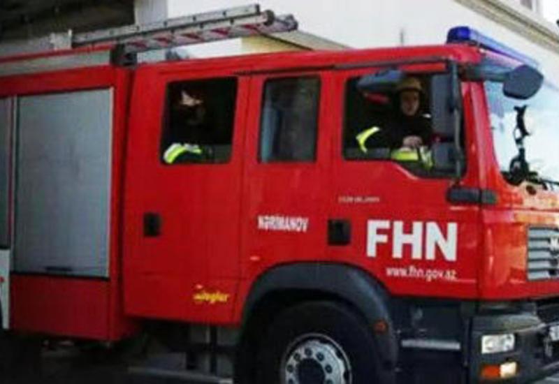 В Евлахе произошел пожар в больнице