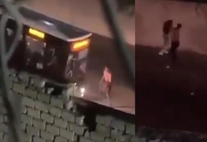 Начато разбирательство в отношении мужчины, перекрывшего дорогу в Баку и напавшего на прохожих