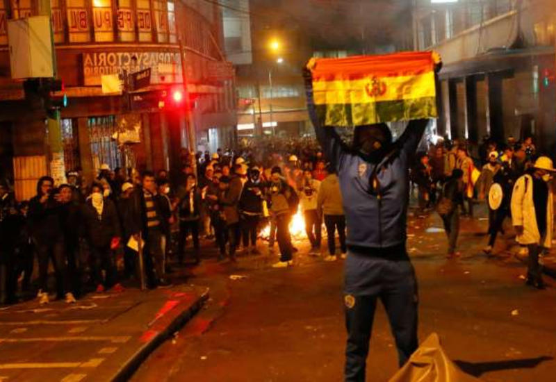 На улицы Боливии вышли мародеры
