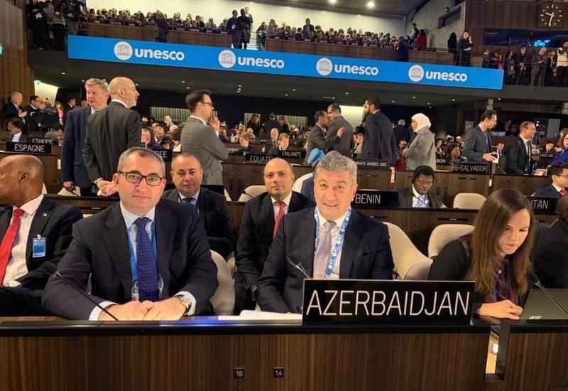 Азербайджан избран вице-президентом 40-й сессии Генконференции ЮНЕСКО