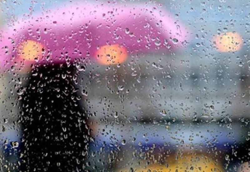 В Баку ожидаются ливневые дожди