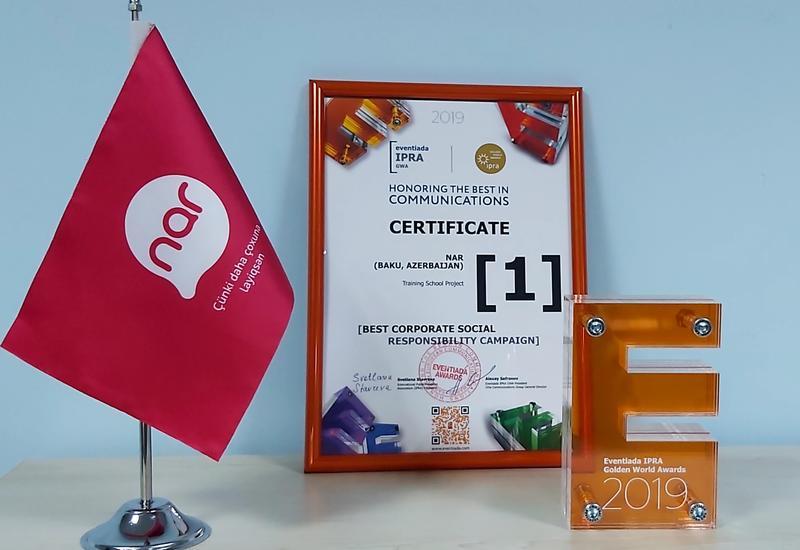 Социальный проект Nar стал победителем престижного международного конкурса (R)