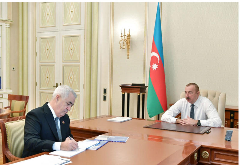 Президент Ильхам Алиев: Необходимо проложить железную дорогу в Гусарский район