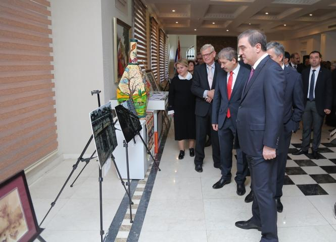Послы иностранных государств посетили Гянджу