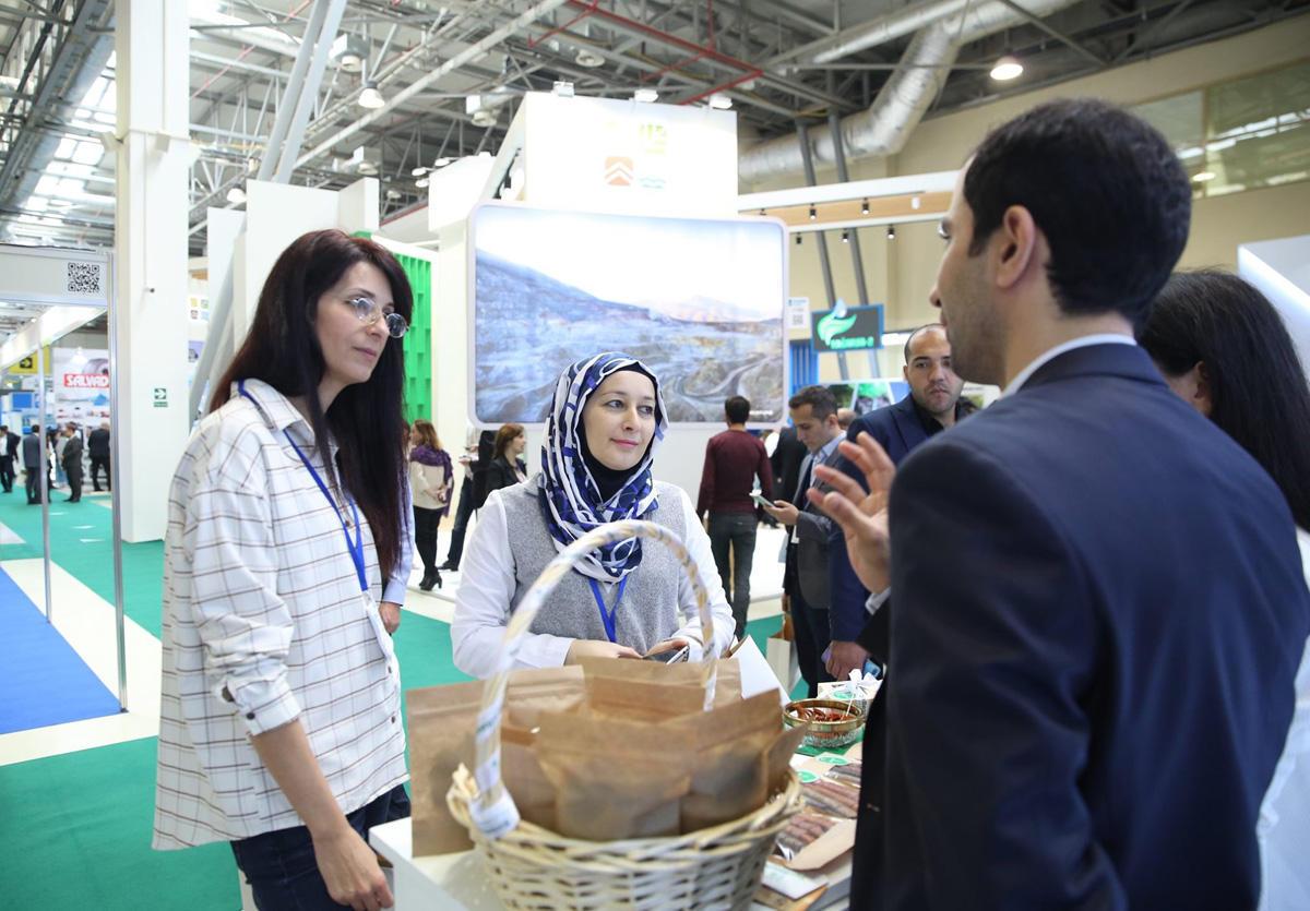 Субъекты МСБ на Азербайджанской международной выставке в области охраны окружающей среды