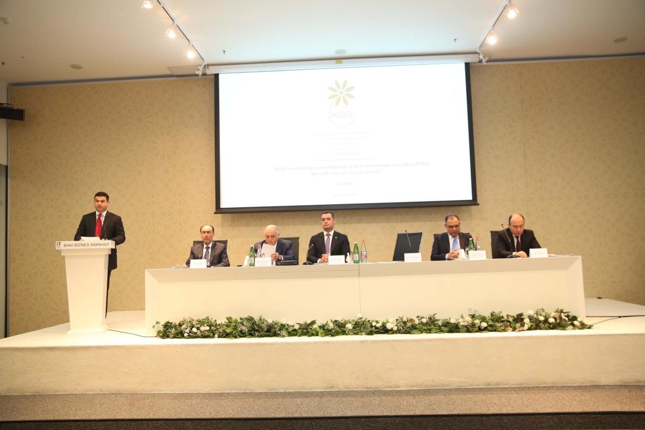 Агентство по развитию МСБ Азербайджана организовало общественное обсуждение по финансированию предпринимателей
