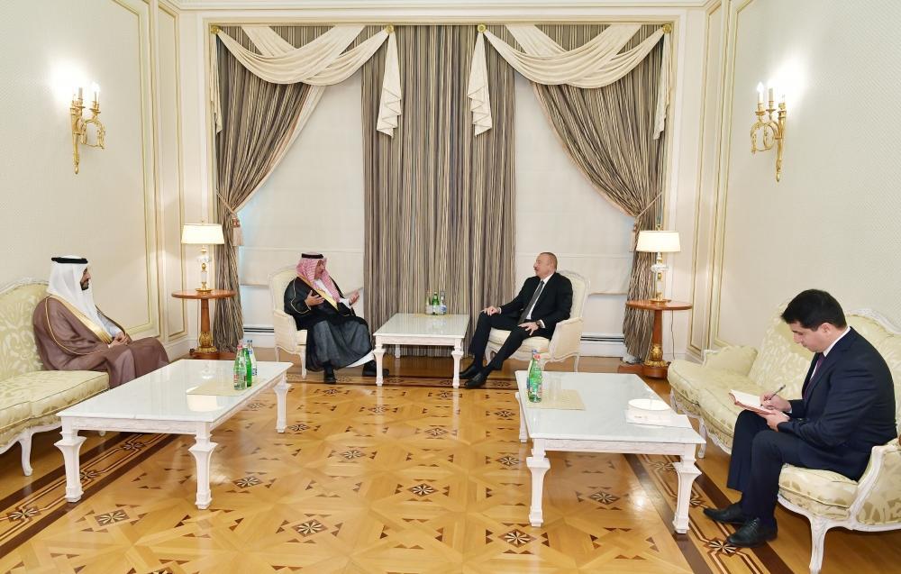 Президент Ильхам Алиев принял генерального секретаря Международного центра межрелигиозного и межкультурного диалога KAICIID