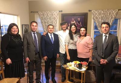 Азербайджанка, выжившая в Ходжалы, встретилась в США с свидетелем Холокоста - уникальные кадры - ФОТО