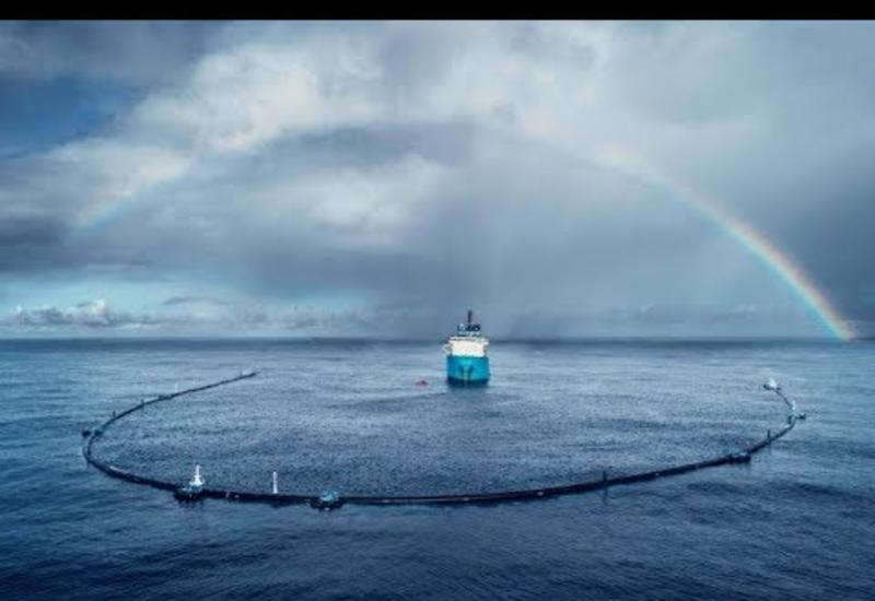 Ловушка для мусора: проект молодого нидерландца очищает мировой океан от пластика сегодня