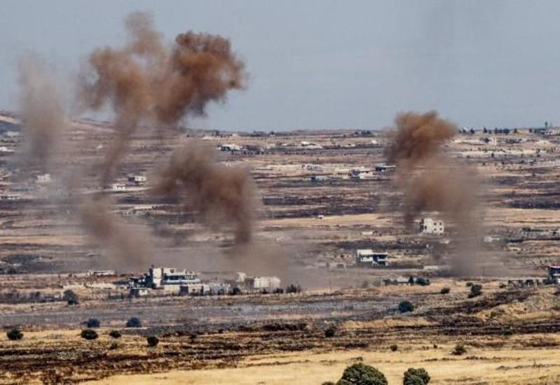 Беспилотники атаковали наземные цели на востоке Сирии
