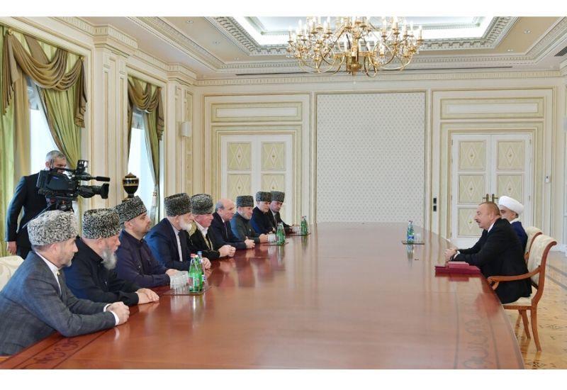 Президент Ильхам Алиев: Мои многочисленные встречи с Президентом России играют очень важную роль в деле дальнейшего укрепления наших дружественных, добрососедских связей