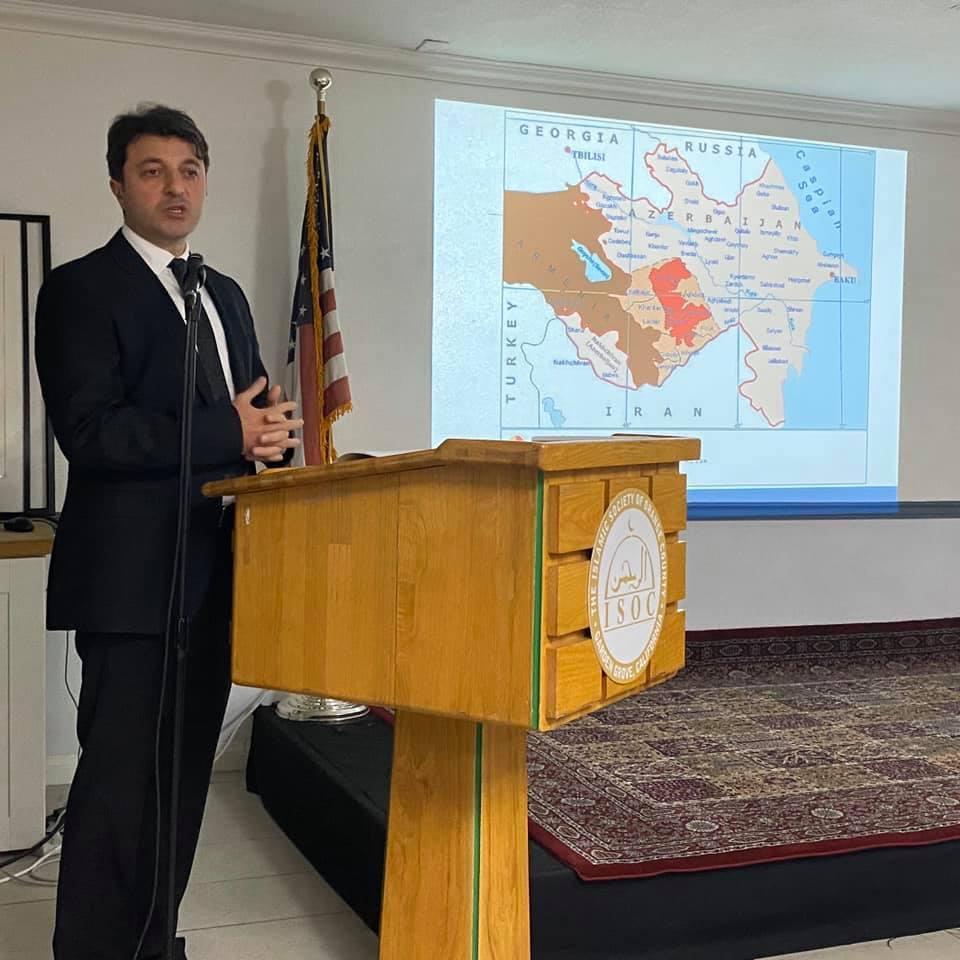 Члены азербайджанской общины Нагорного Карабаха встретились с представителями крупнейшей мусульманской общины Южной Калифорнии