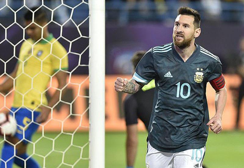 Argentina Braziliyanı Messinin qolu ilə məğlub etdi
