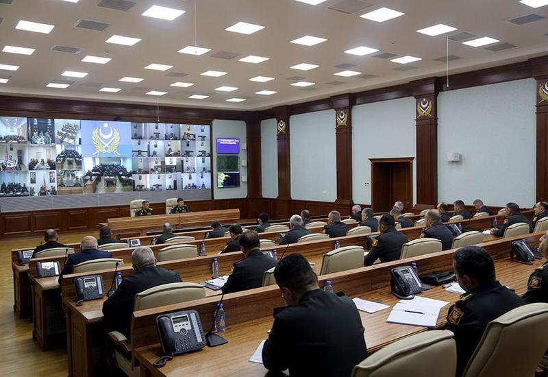 Закир Гасанов приказал увеличить количество проводимых на различных уровнях учений