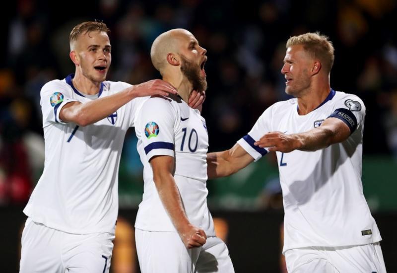 Сборная Финляндии впервые в истории вышла на чемпионат Европы