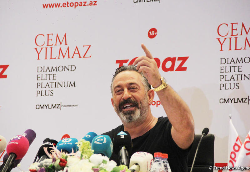 Джем Йылмаз: Баку очень светлый и добрый город