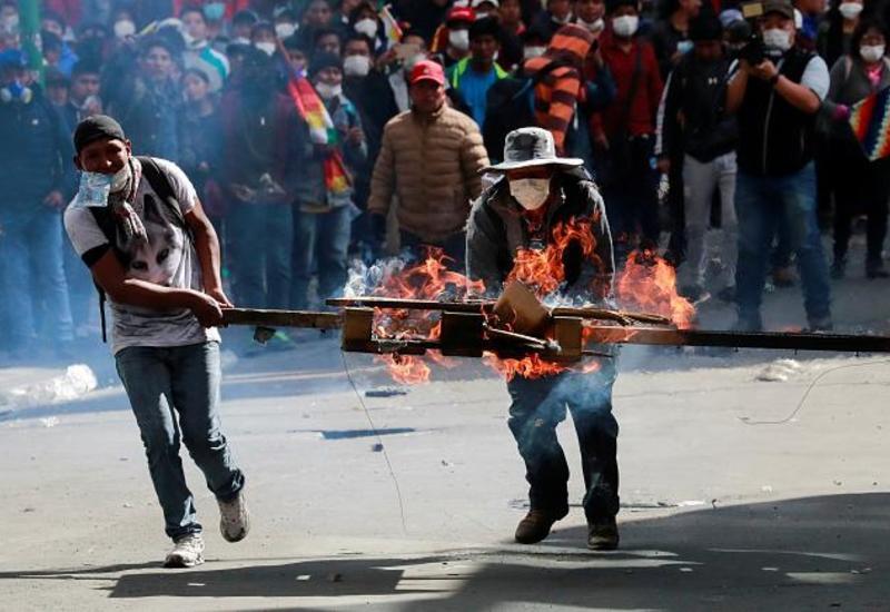 Беспорядки как в Боливии, убийства как в Сирии
