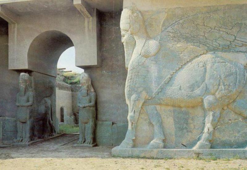 İŞİD 10 möhtəşəm memarlıq abidəsini yer üzündən sildi - Misli görülməmiş VƏHŞİLİK - FOTOlar