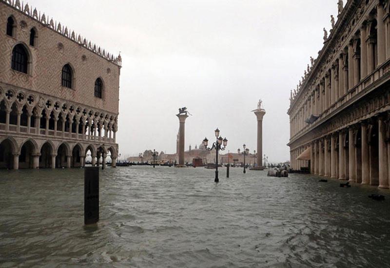 Venesiya yenidən su altında qala bilər