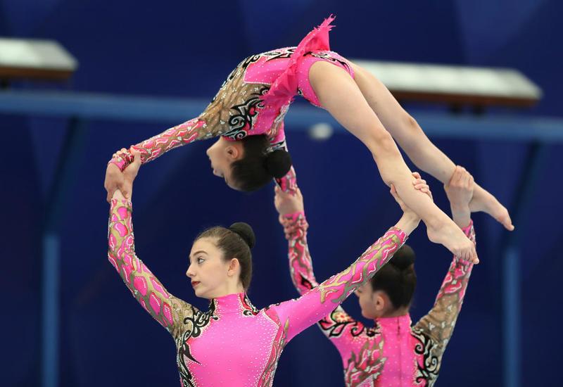 Определились победители Чемпионатов Азербайджана по акробатической и аэробной гимнастике