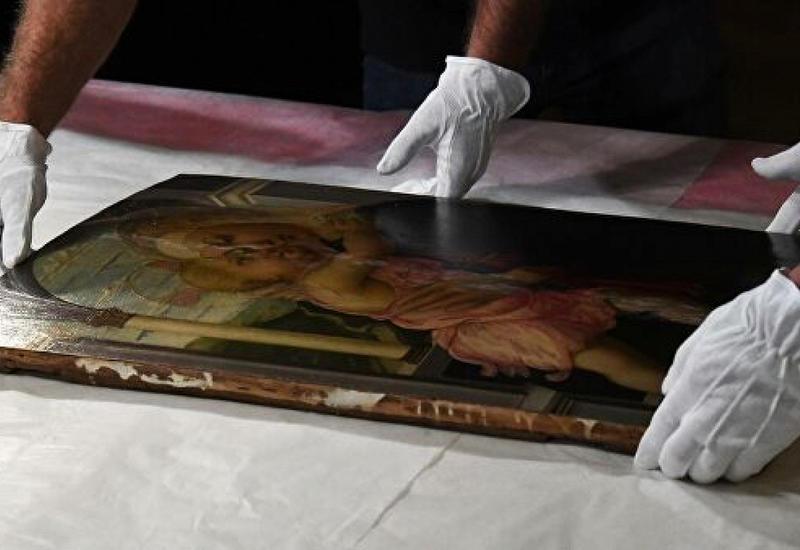 Эрмитаж застраховал картину Боттичелли на три миллиона