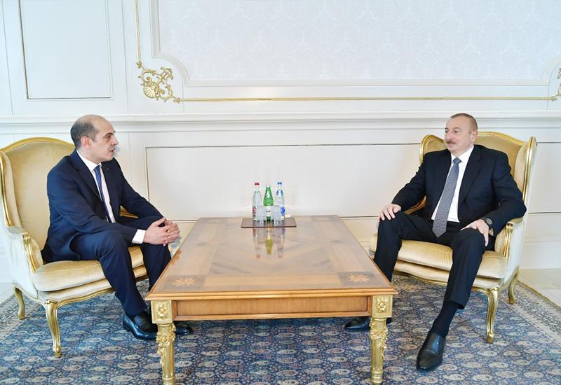 Президент Ильхам Алиев принял верительные грамоты новоназначенного посла Иордании