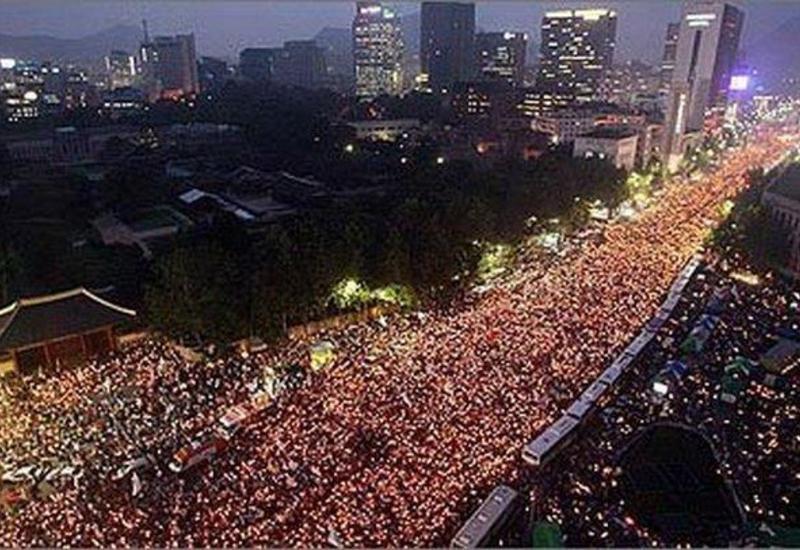 В Южной Корее прошли демонстрации с требованием отказа от выплат за содержание войск США