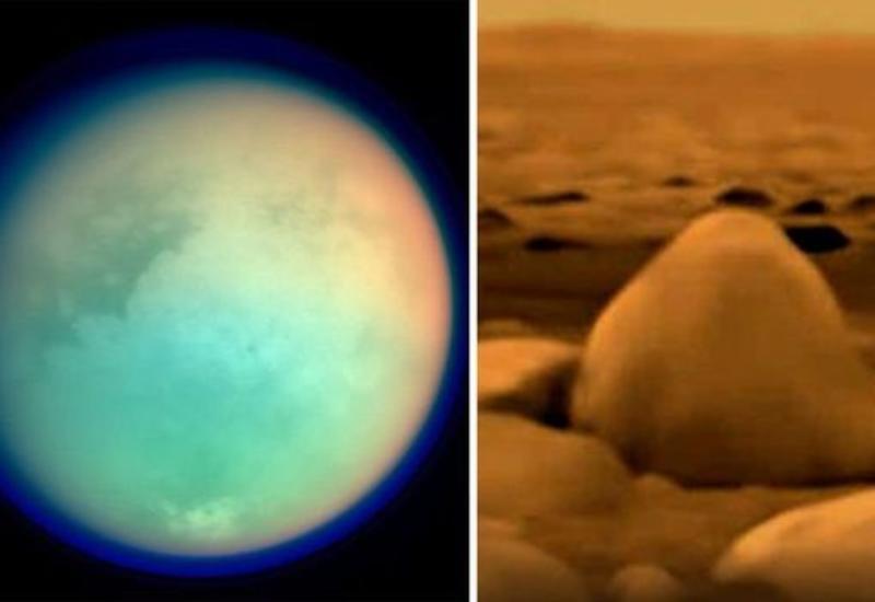 Ученые обнаружили органические материалы на поверхности Титана