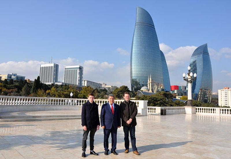 Потомки Джалила Мамедкулизаде впервые посетили Азербайджан