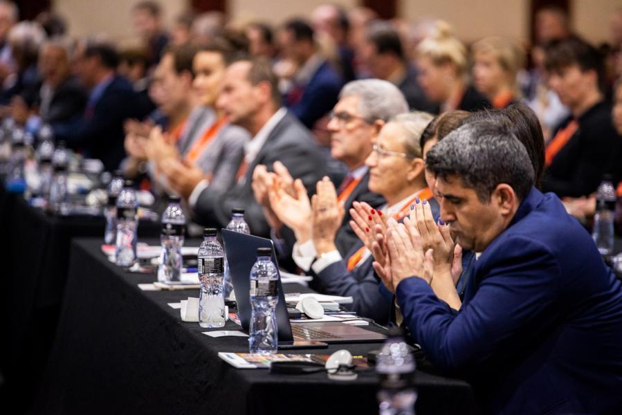 Европейский гимнастический союз переименован в European Gymnastics