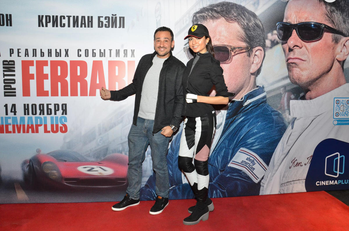 """В Баку состоялся предпремьерный показ фильма """"Ford против Ferrari"""""""