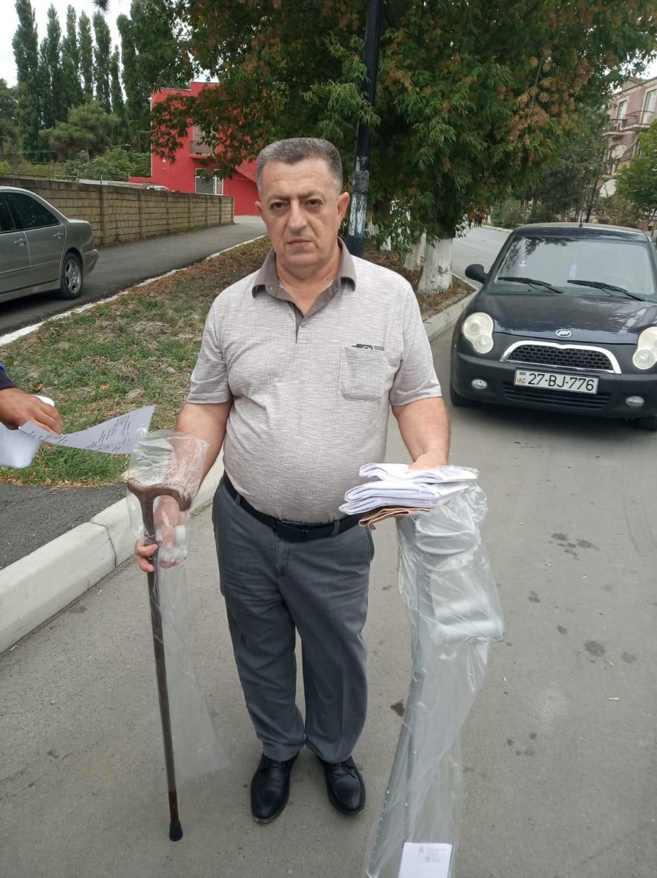 Лица с инвалидностью получили от государства средства реабилитации