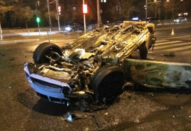 Чудовищная цепная авария в центре Баку, образовалась пробка